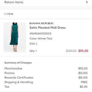 Banana Republic Midi Dress